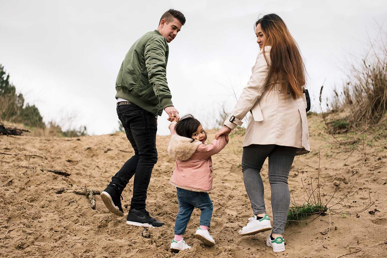 Familiefotografie in Overveen
