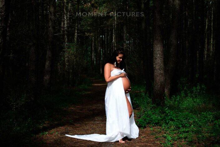 Zwangere bosnimf